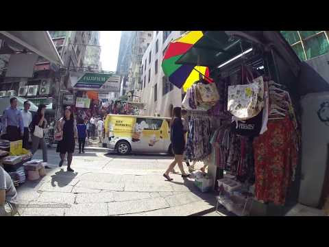 【Hong Kong Walk Tour】Exchange Square - Pottinger St - Hollywood Rd - PMQ 元創方 - Aberdeen St