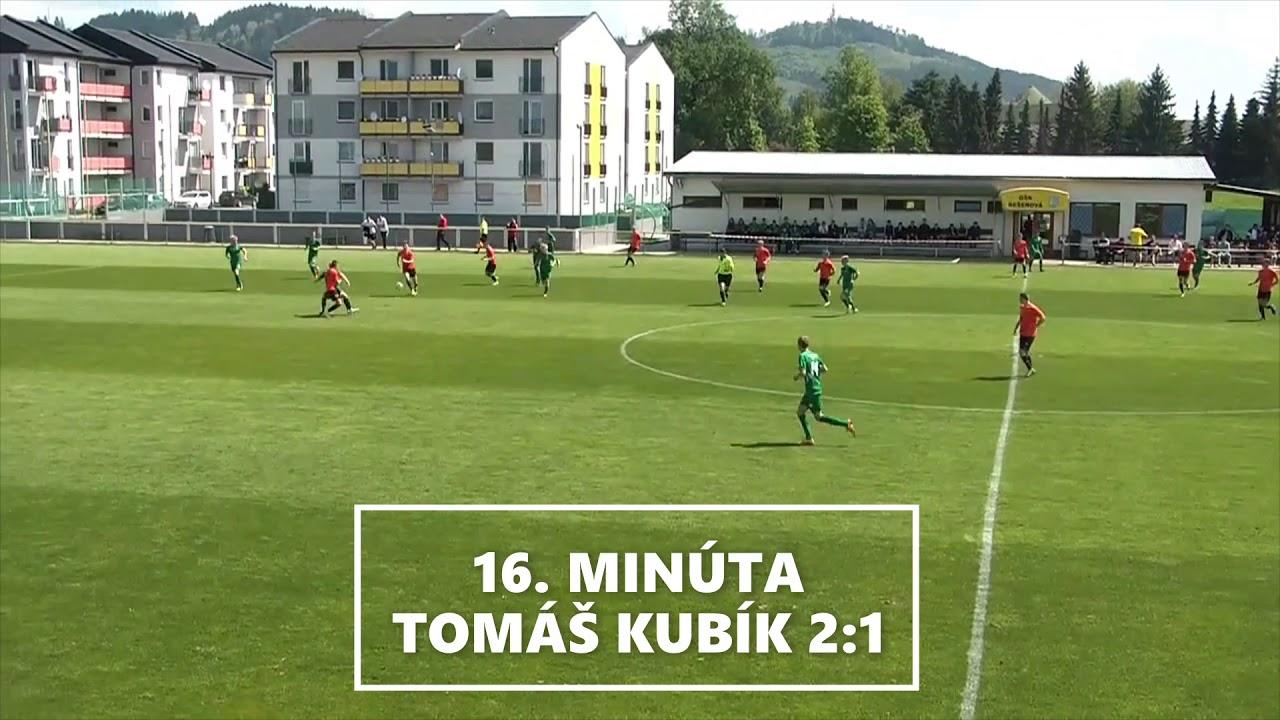 7a1c29d60bfa8 Zostrih: MFK Ružomberok U17 - 1. FC Tatran Prešov U17 3:3 (2:1 ...