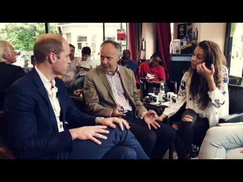 Prince William Talks about Coping at Fathers Day Breakfast   YoungMinds   HeadsTogether