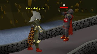 Distracting Pkers so I can 1 Hit Them