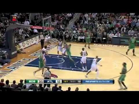 NBA Boston Celtics Vs Atlanta Hawks Game Recap 11 22 2010