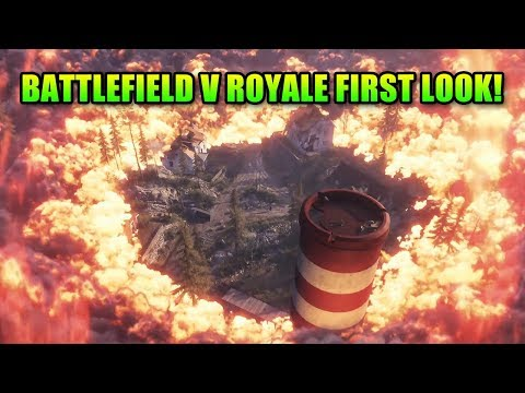 Battlefield V Royale First Look! Gamescom Trailer Breakdown