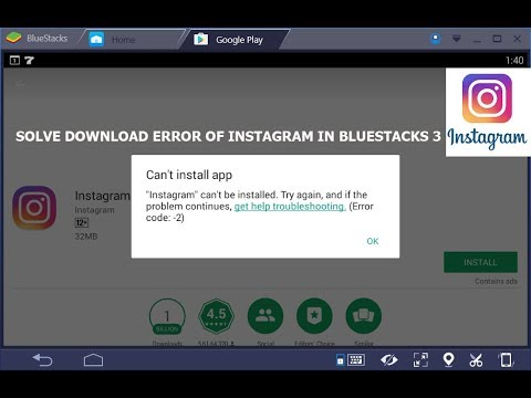How To Download Instagram On Bluestacks 3 Youtube