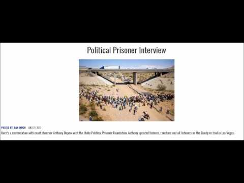 AM580 KUBC Talk Radio Interviews Anthony Depew from Idaho Political Prisoner Foundation