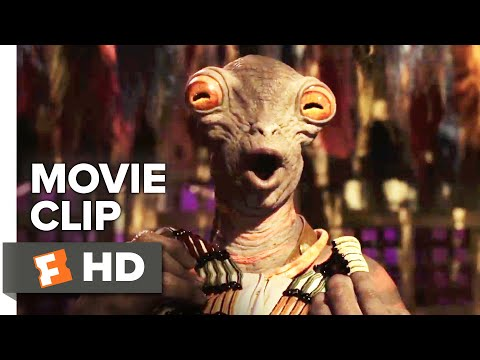 Valerian and the City of a Thousand Planets Movie Clip - Boulan Bathor Couturier (2017)