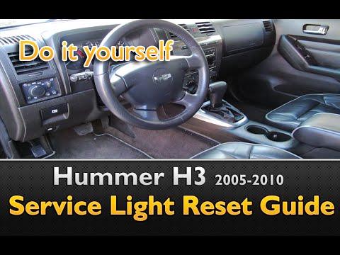 Hummer H3 Service Light Oil Life Reset