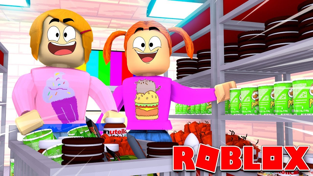 Roblox Bloxburg Grocery Shopping Routine Roleplay!