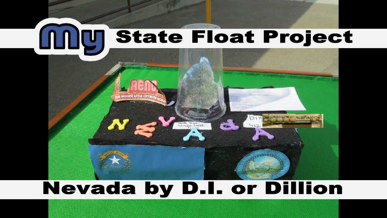 nevada state float by d i  aka dillion   erictheelephant
