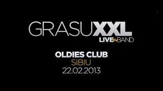 Promo concert: Grasu XXL & Live Band @ Oldies Pub (Sibiu)