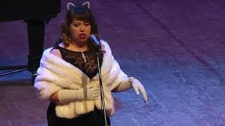 """Дуэт кошек""   -   музыкальная шутка Дж.Россини. | ""Duet of cats"" is a musical joke by J. Rossini."