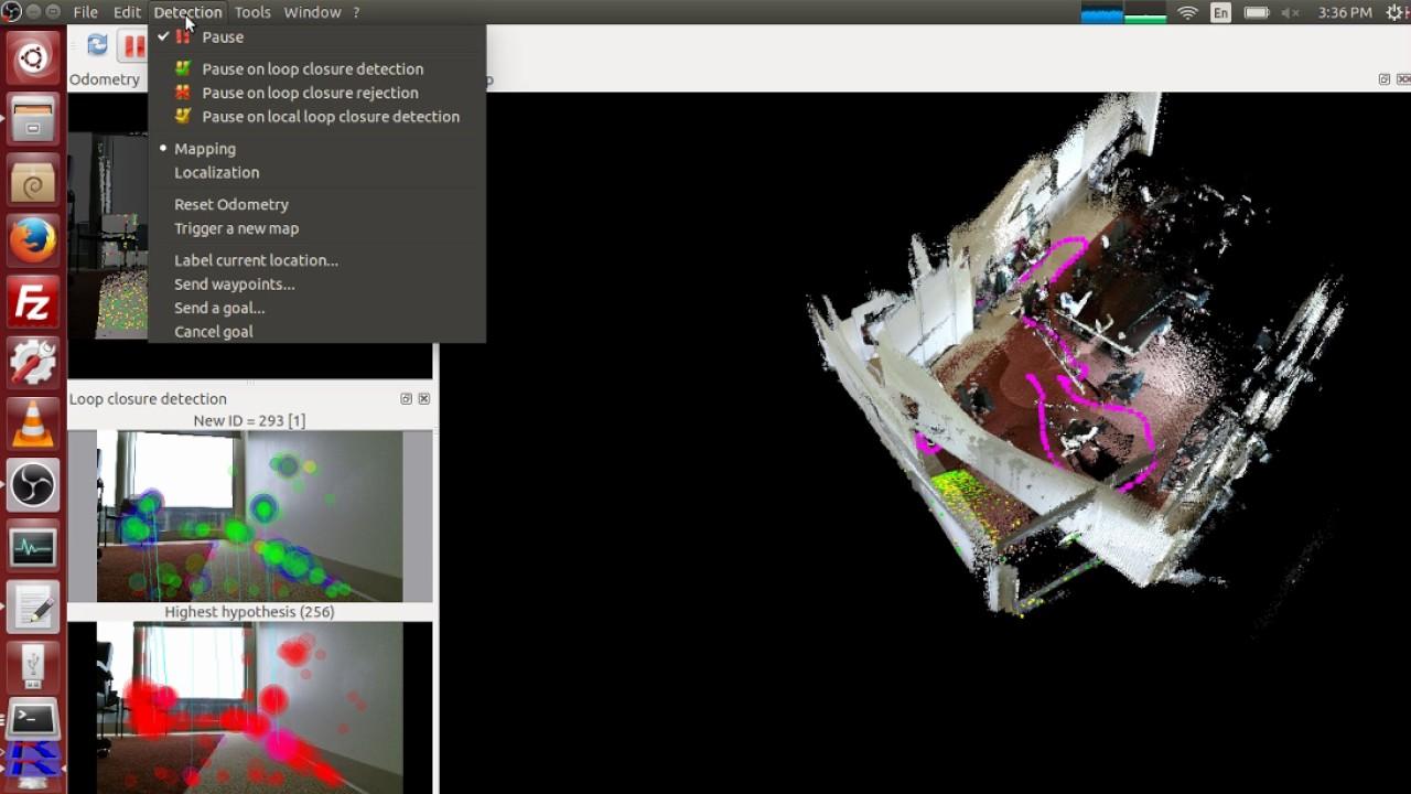 3D SLAM Demo Using ROS