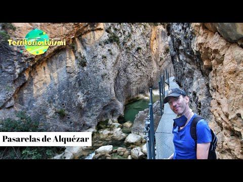Ruta en las alturas por PASARELAS de ALQUÉZAR