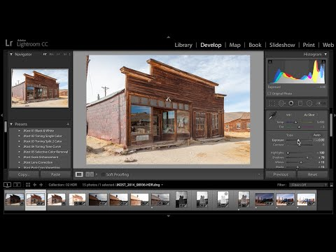 High Dynamic Range Imaging within Lightroom CC