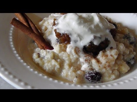 Creamy Rice Pudding - Made With Leftover Rice