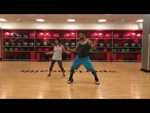 Zumba - Si Tu La Ves (Nicky Jam ft Wisin) - with Fitness by Dirty Money (Zin Jermaine Robinson)