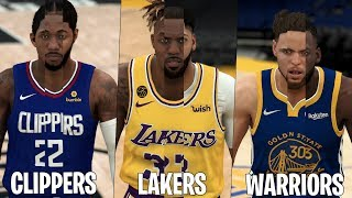 I Combined Every NBA Team Into ONE Player In NBA 2K20!
