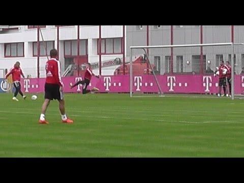 Nice Goals and flanks - Schweinsteiger Martinez Weiser van Buyten - FC Bayern Munich Pep Guardiola