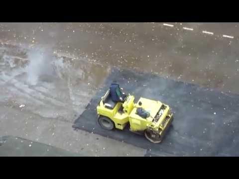 Укладка асфальта по Армянски в России ........