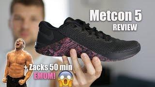 Metcon 5 Review + Zack's 50 min EMOM!