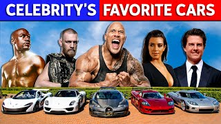 10 Badass Celebrity Cars!