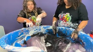 Fixing Our Old Pool of DIY Slime!