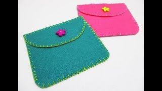 DIY #242 | Mini Felt Purse ❤