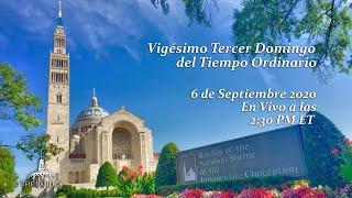 La Misa el 23º Domingo del Tiempo Ordinario