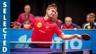 Timo Boll vs Steffen Mengel (TTBL Selected)