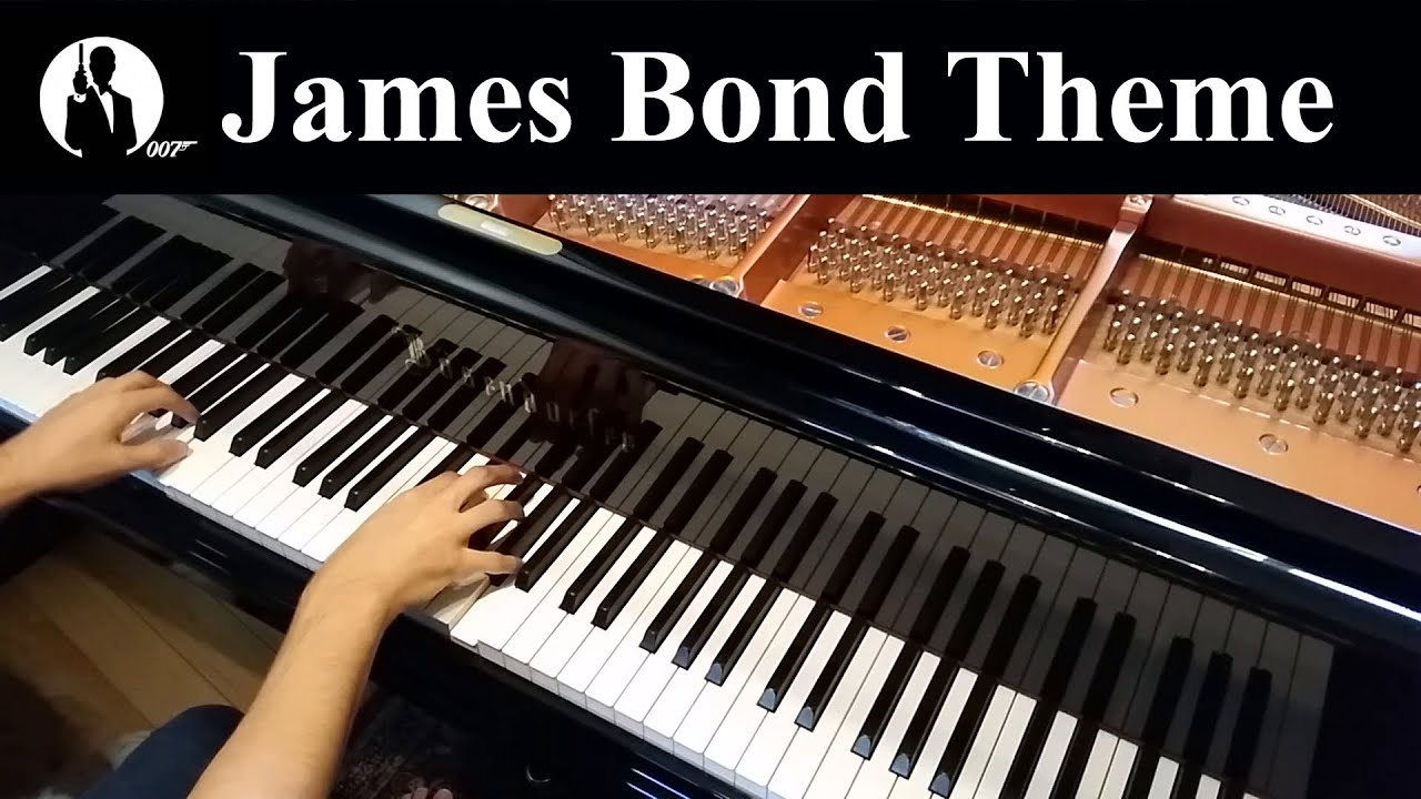 James Bond Theme, Monty Norman (Intermediate Piano Solo)
