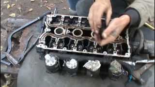 Ремонт головки ВАЗ 2112 16 (клапанов часть 2)
