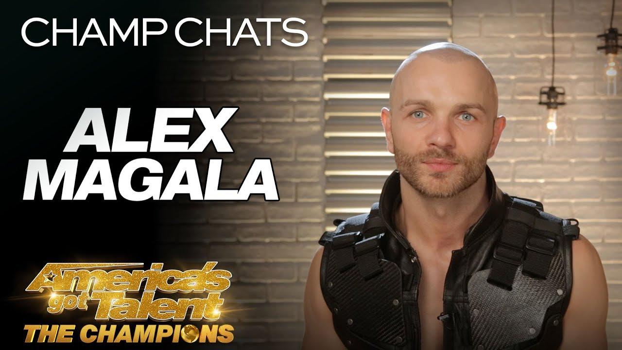 Alex Magala Recaps His Most Dangerous Act EVER - America's Got Talent: The Champions
