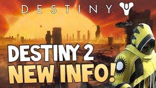 "Destiny 2 - ""The Shattered Suns"" | Next Destiny Game?! NEW Dreadnaught Info"
