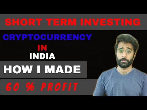 HOW I MADE 60% PROFIT | Zero to Rs.10000/- RETURNS  | INVESTING |crypto | INVESTING WITH MR.J |