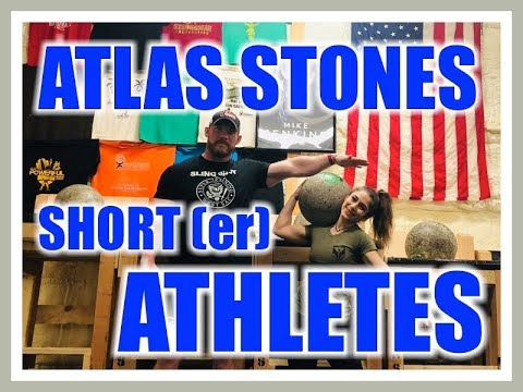 My WIFE & I Teach Atlas Stones For Shorter Athletes or Higher Bar Heights