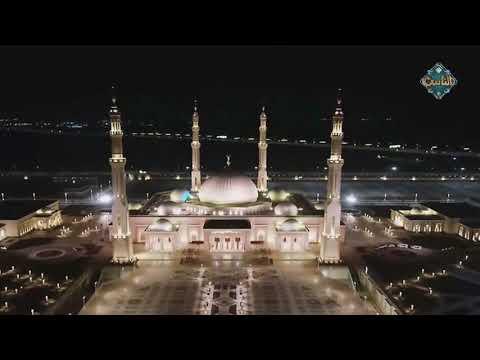 أول أذان يُرفع من مسجد الفتاح العليم بالعاصمة الإدارية الجديدة بصوت مصطفى عاطف
