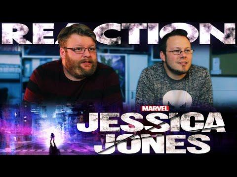 Jessica Jones Trailer REACTION!!