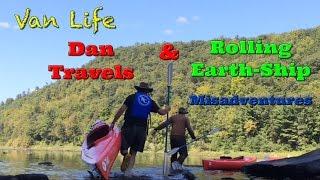 Van Life; Dan Travels & Rolling Earth-Ship Misadventures!