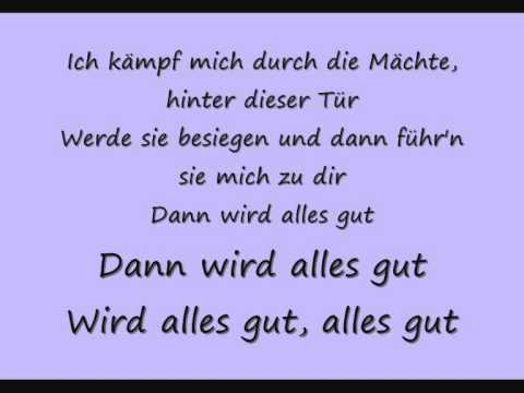 Tokio Hotel - Durch den Monsun (with lyrics)