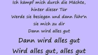 tokio hotel durch den monsun with lyrics