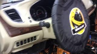 Nissan Teana, звукоизоляция салона любимого автомобиля, использовали материалы Комфортмат