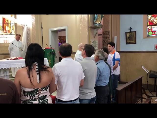 Pronunciamento do Pe. Xiko na posse da nova coordenação Movimento de Cursilhos de Cristandade 1