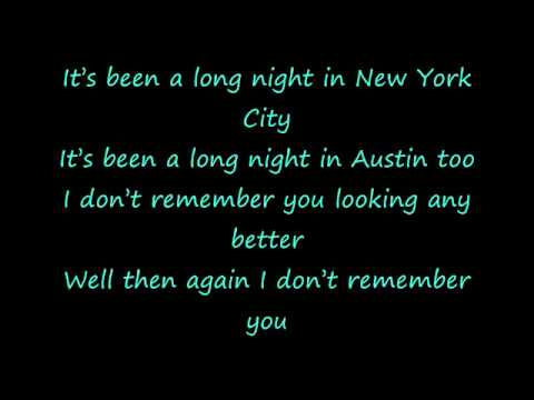 John Mayer - Who Says lyrics on screen