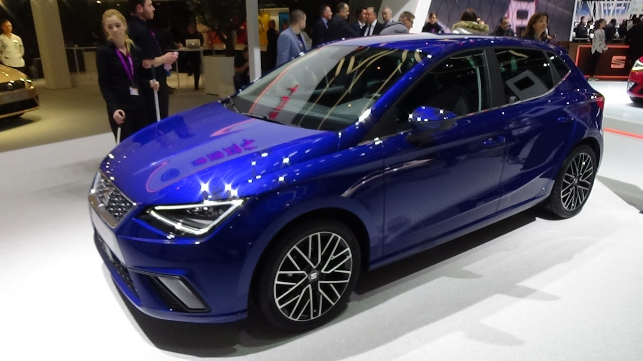 2018 seat ibiza style blue exterior and interior geneva motor show 2017 youtube. Black Bedroom Furniture Sets. Home Design Ideas