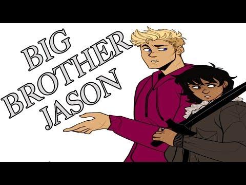 """Big Brother Jason"" – Percy Jackson  Comic Dub Drama"