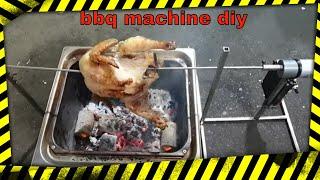 회전 바베큐 기계 만들기(create BBQ machi…
