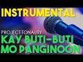 Instrumental: Kay Buti - Buti Mo Panginoon| Karaoke | Minus one | Lyric video