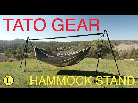 Tato Gear Hammock Stand - take your hammock anywhere. Part 1
