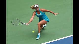 2017 US Open: Radwanska vs. Vandeweghe Game Highlights