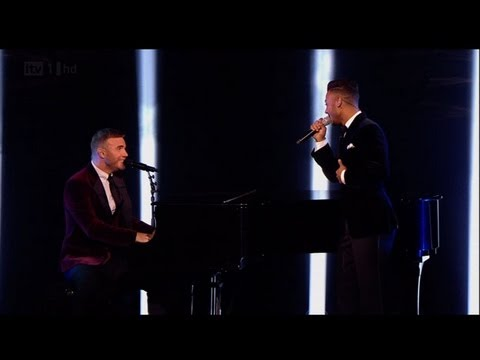 Marcus and Gary sing She's Always A Woman - The X Factor 2011 Live Final - itv.com/xfactor