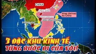 Từng bước đi của sói - 3 đặc khu kinh tế Trung Quốc tiến 1 bước dài thôn tính Việt Nam